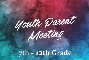 Thrive Parent Meeting @ Springbrook Community Church