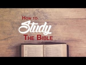 How to Study the Bible @ Springbrook Community Church | Huntley | Illinois | United States