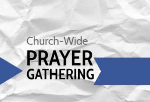 On-line Prayer Gathering